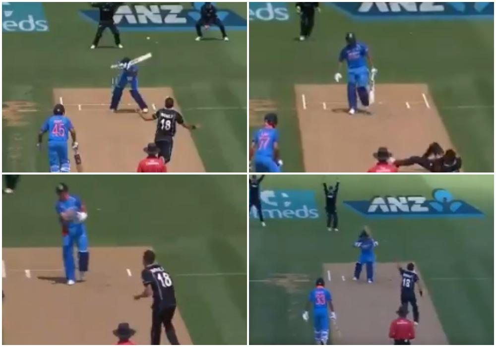 वीडियो: ट्रेंट बोल्ट ने एक के बाद एक 5 भारतीय बल्लेबाजों को भेजा पवेलियन, देखने लायक था भारतीय कप्तान का रिएक्शन 14