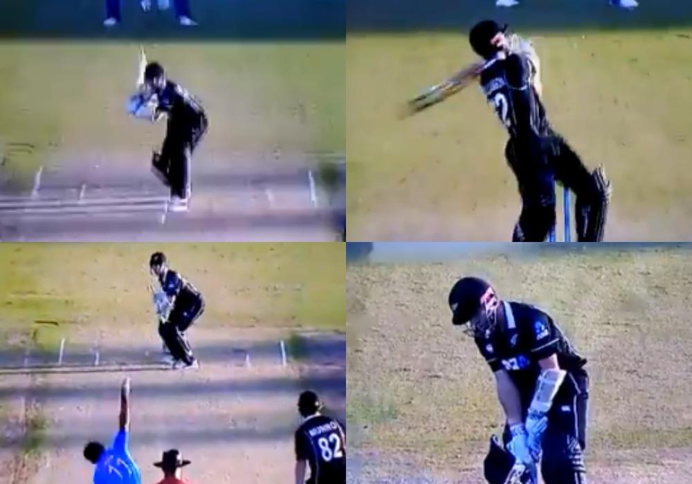 India vs New Zealand 2019:  केन विलियमसन ने शमी की गेंद पर 6,6,4,2 लगाया तो गुस्साए शमी ने किया कुछ ऐसा पवेलियन लौटे विलियमसन 55