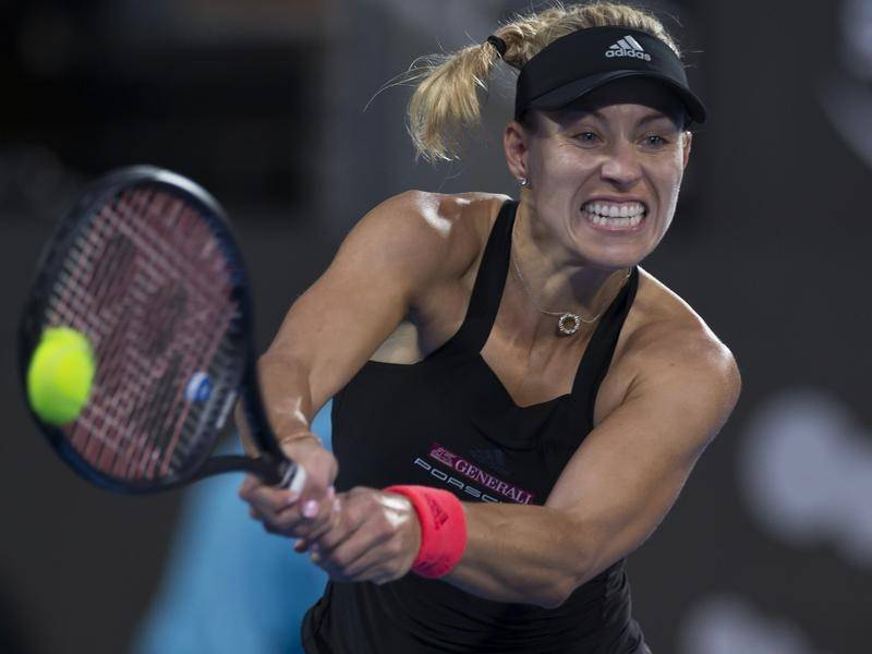 Tennis: Kerber at the Sydney International quarter-finals