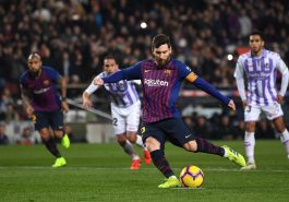 Spanish League: Messi's goal, Barcelona beat Valladolid