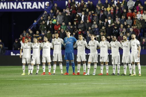 Spanish League: Real Madrid beat Levante by 2-1