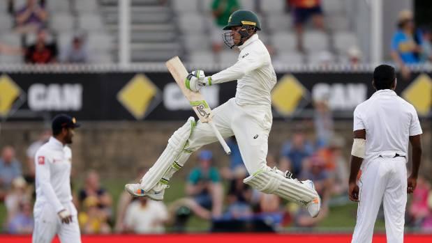 कैनबरा टेस्ट : आस्ट्रेलिया ने श्रीलंका को दिया 516 रनों का लक्ष्य