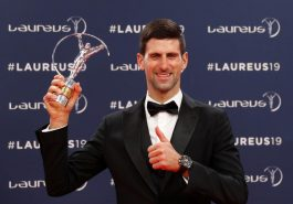 Djokovic, Bileys won Laureus Sports Award