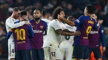 Copa del Rey: Real Madrid, Barcelona played 1-1 draw in first leg