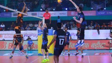 Pro Volleyball League: Confident of Black Hawks Will Meet Chennai