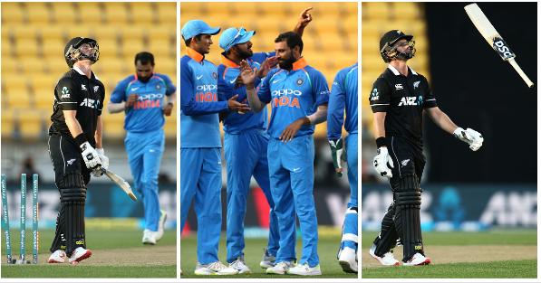 India vs Newzealand- वीडियो: पारी के 10वें ओवर में कोलिन मुनरो करने गए कुछ ऐसा कि उड़ गई गिल्लियां, देखे वीडियो