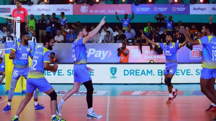 Pro Volleyball League: Kochi Blue Spikers' Victory Hatik