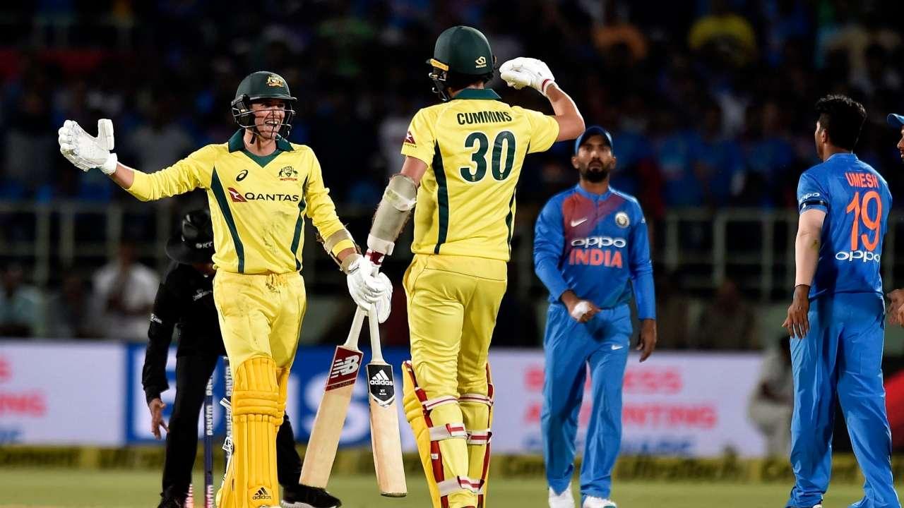 Visakhapatnam T-20: Maxwell's half-century, Australia won by 3 wickets
