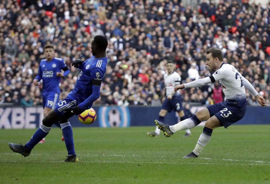 Premier League: Tottenham beat Leicester City 3-1