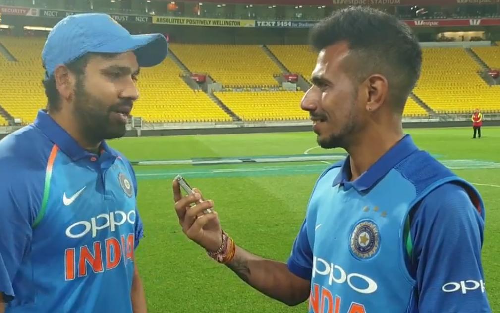 चहल टीवी पर रोहित शर्मा ने रायडू और शंकर की तारीफ की, तो सरेआम बनाया इस खिलाड़ी का मजाक 1