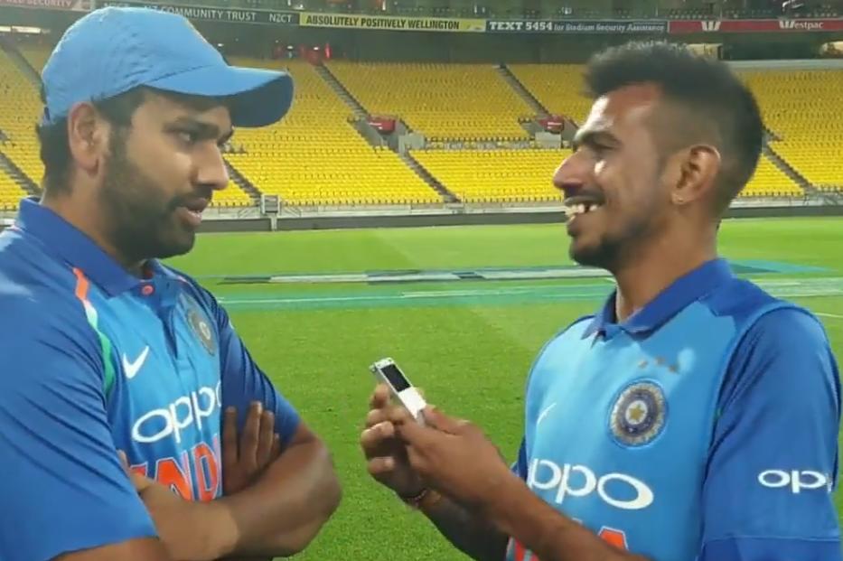 चहल टीवी पर रोहित शर्मा ने रायडू और शंकर की तारीफ की, तो सरेआम बनाया इस खिलाड़ी का मजाक 4