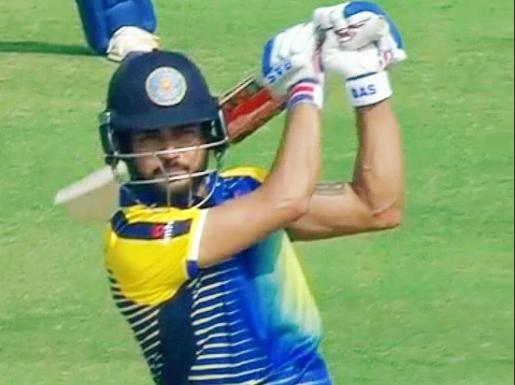 सैयद मुश्ताक अली ट्रॉफी: मनीष पांडे ने खेली टी-20 की अब तक की सबसे विस्फोटक पारी, तोड़ने से चूके ये रिकॉर्ड 11