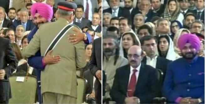 पाकिस्तान के सेना प्रमुख से गले मिलने व शपथ ग्रहण समारोह में जाने का कोई पछतावा नहीं : नवजोत सिंह सिद्धू