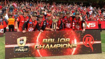 Melbourne Renegades wins Big Bash League title