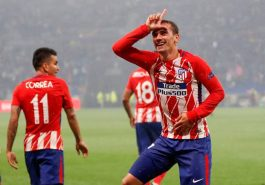 Spanish League: Atletico Madrid won by Greigman's goal