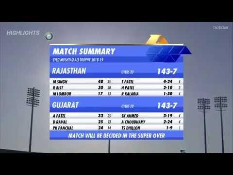 सुपर ओवर में भी ड्रा हुआ राजस्थान और गुजरात का मैच, तो ऐसे निकला परिणाम 10