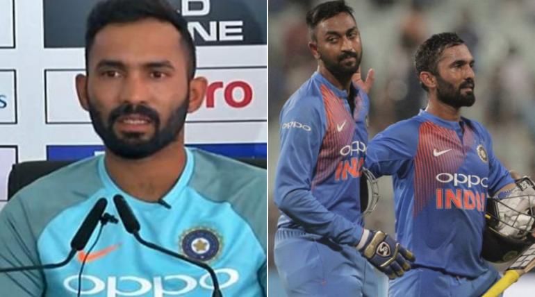 दिनेश कार्तिक का खुलासा, न्यूजीलैंड के खिलाफ तीसरे टी-20 में इस वजह से नहीं लिया था वो सिंगल रन 1