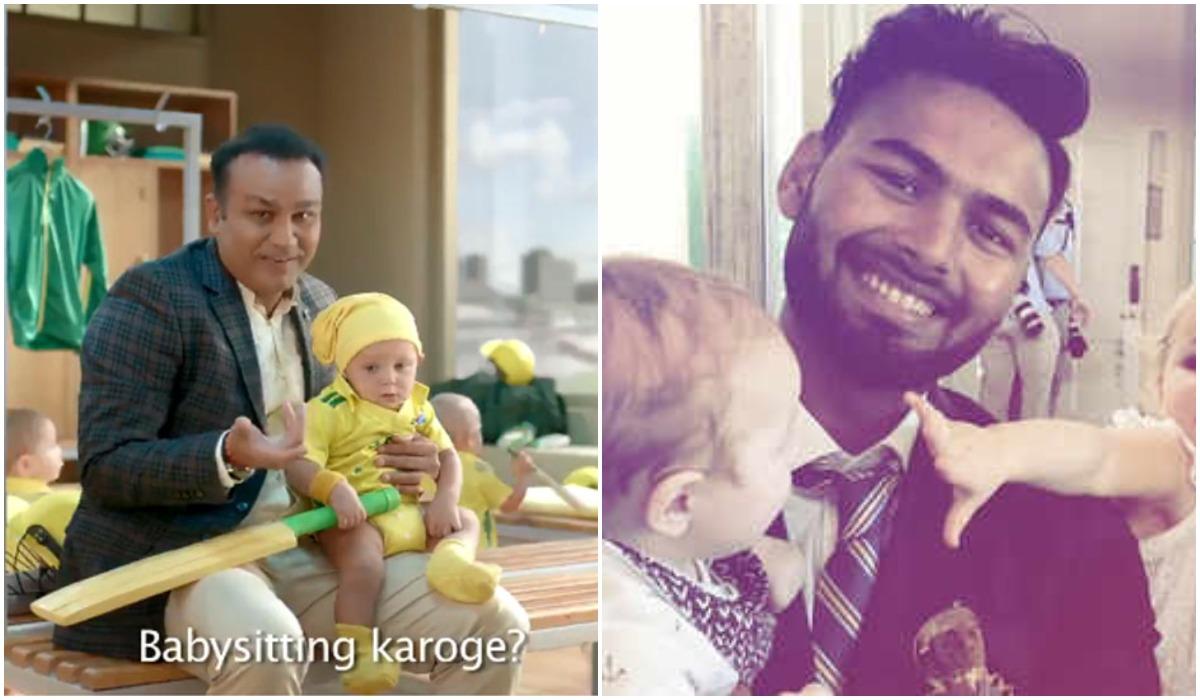 भारतीय विकेटकीपर ऋषभ पंत ने वीरेंद्र सहवाग के बेबीसिटर ऐड पर किया ट्वीट, मजाकिया अंदाज में कहा... 15