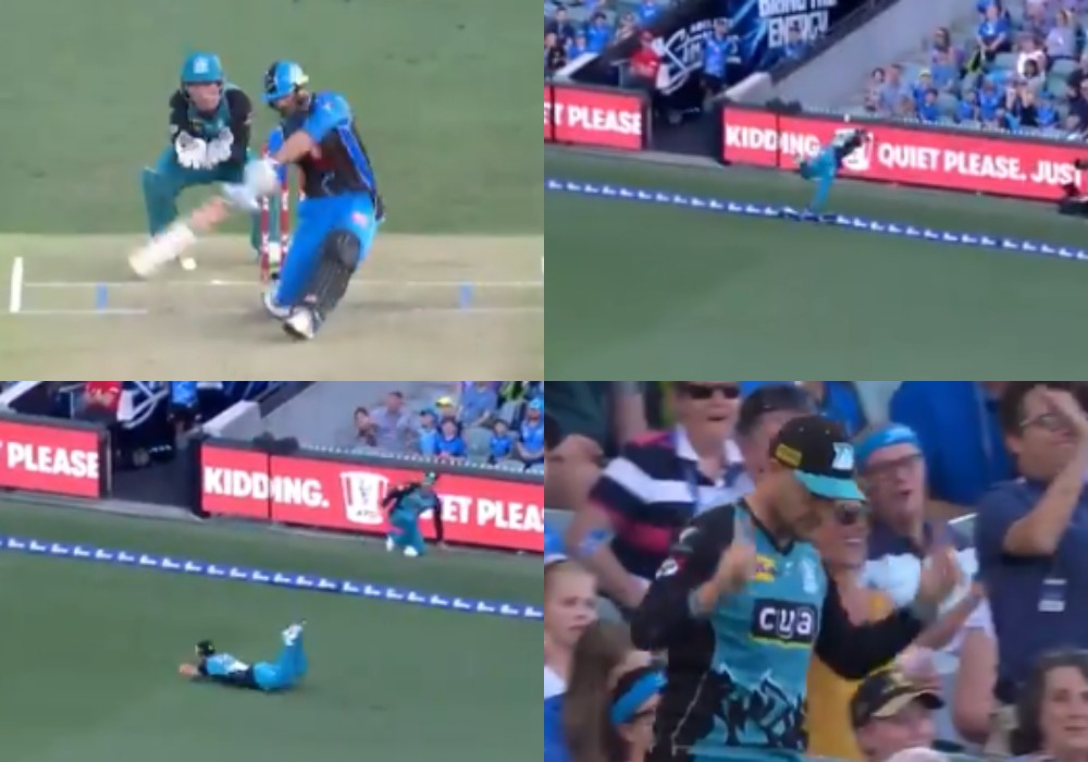 वीडियो: ब्रेंडन मैकुलम और बेन कटिंग ने पकड़ा होता ये कैच तो होता क्रिकेट इतिहास का सर्वश्रेष्ठ कैच 1
