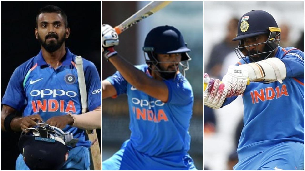 आईसीसी विश्व कप 2019: केएल राहुल, ऋषभ पंत या दिनेश कार्तिक, किन दो खिलाड़ियों को मिलना चाहिए मौका, देखें आंकड़े 5