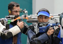 Shooting World Cup: Anjum, Ravi 10 meter air rifle outside mixed team competition