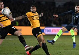 FA Cup: City reached quarter-finals by defeating Newport