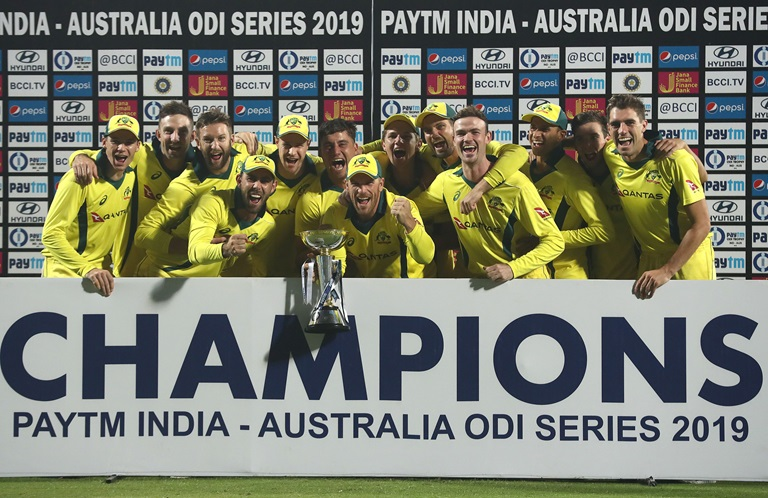 Delhi ODI: India lose series of credit, Australia win series