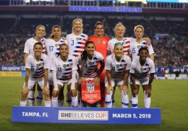 American soccer team accused of federation discrimination