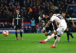 Manchester United champions league quarter-finals