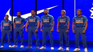 BCCI unveils World Cup jersey