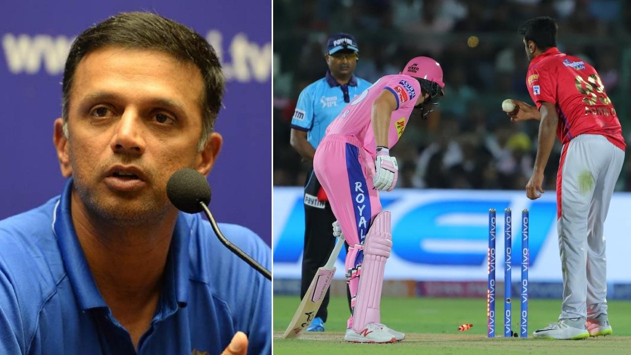 IPL 2019: मांकडिंग पर रविचन्द्रन अश्विन के पक्ष में उतरे राहुल द्रविड़, बटलर के लिए कही ये बात 12