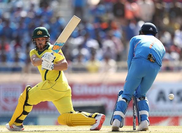 INDvsAUS: भारत के खिलाफ अपना दो साल पुराना रिकॉर्ड तोड़ने से चूके आरोन फिंच 7