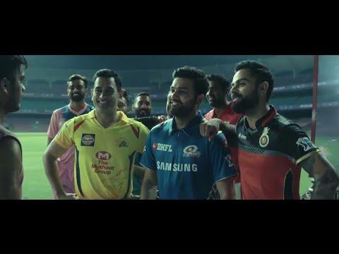 IPL 2019- इंडियन प्रीमियर लीग के इस सीजन का ट्रेलर लॉन्च, थीम नेम है 'गेम बनाएगा नेम' 1