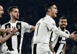 Champions League: Ronaldo's hat-trick takes Juventus to quarter-finals