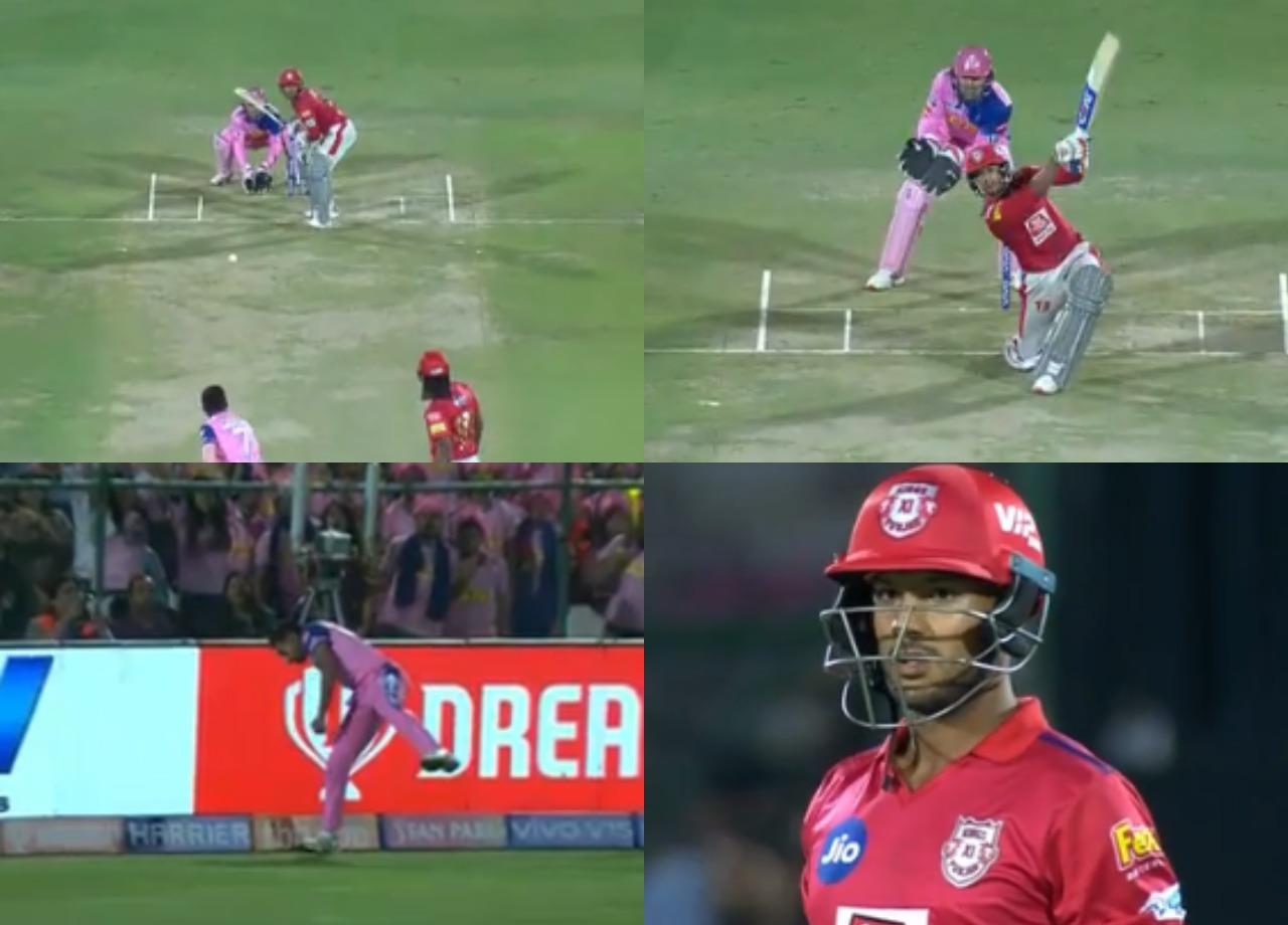 WATCH: आईपीएल का सबसे बेहतरीन कैच लपक, धवल कुलकर्णी ने मयंक अग्रवाल को भेजा पवेलियन