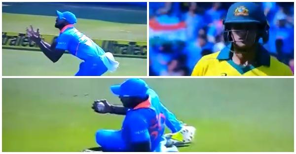 वीडियो : विजय शंकर ने फिसलते हुए लिया शानदार कैच, देख आपकों भी नहीं होगा यकीन 10