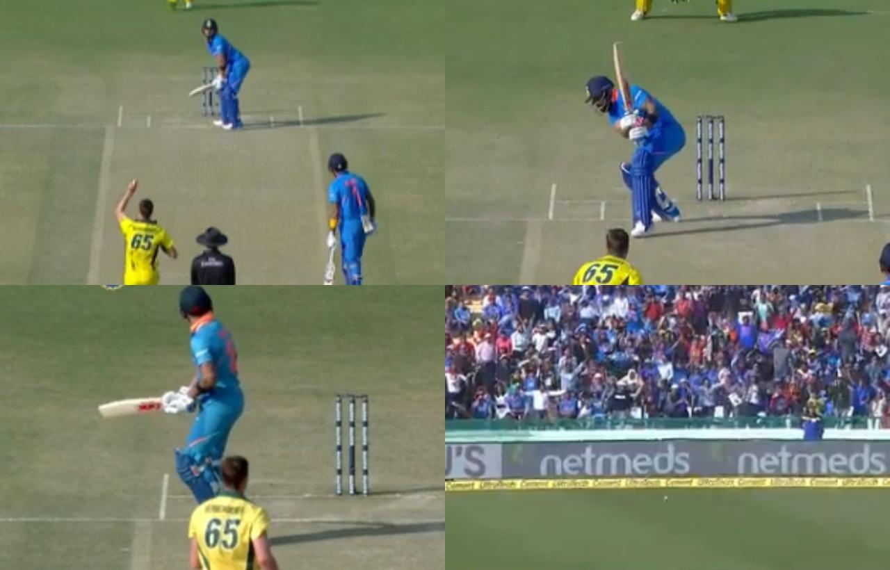 WATCH: विराट कोहली ने खेला ऐसा अटपटा शॉट, देखकर नहीं रुकी केएल राहुल की हंसी 1