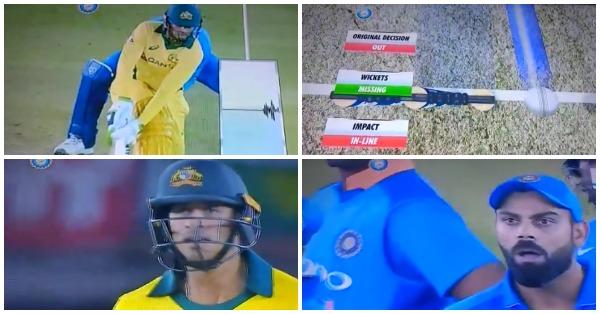 वीडियो : उस्मान ख्वाजा को डीआरएस ने बचाया, तो विराट कोहली ने खेल भावना के विपरीत दिखाया गुस्सा 5
