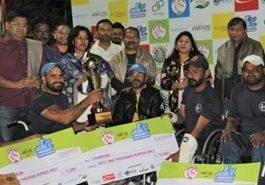 Punjab won second T20 national wheelchair cricket championship title