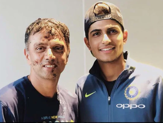 राहुल द्रविड़ ने मेरे क्रिकेट करियर को संवारने में बहुत मदद की: शुभमन गिल 1