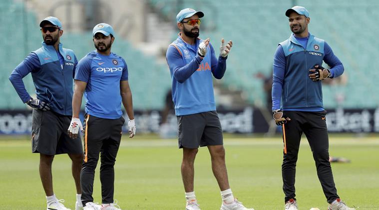 India vs Australia-  नागपुर वनडे से पहले नेट पर दिखा धोनी का आक्रामक अंदाज, बीसीसीआई ने शेयर की तस्वीरें 3
