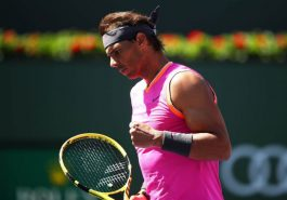 Tennis: Nadal in Indian Wells quarter-finals