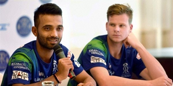 Rajasthan removed Rahane from captaincy, Smith commands