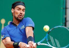 Tennis: Fognini defeats Nadal in Monte Carlo Masters
