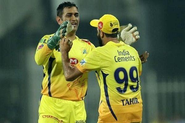 IPL 2019- धोनी ने बनाया इमरान ताहिर के विकेट लेने के बाद जश्न मनाने के अंदाज का मजाक, कहा इस वजह से नहीं देता बधाई 4