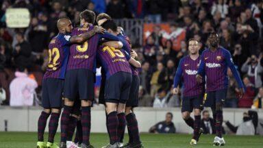 Spanish league: Barcelona defeated Sociadad near the title