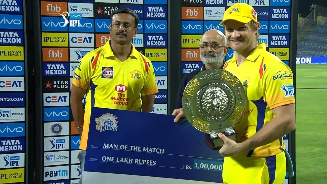 """CSKvsSRH: """"मैन ऑफ द मैच"""" शेन वॉटसन ने हैदराबाद के इस गेंदबाज की जमकर तारीफ की 16"""