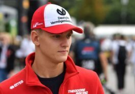 Michael Schumacher's son Mick debuted in Formula 1
