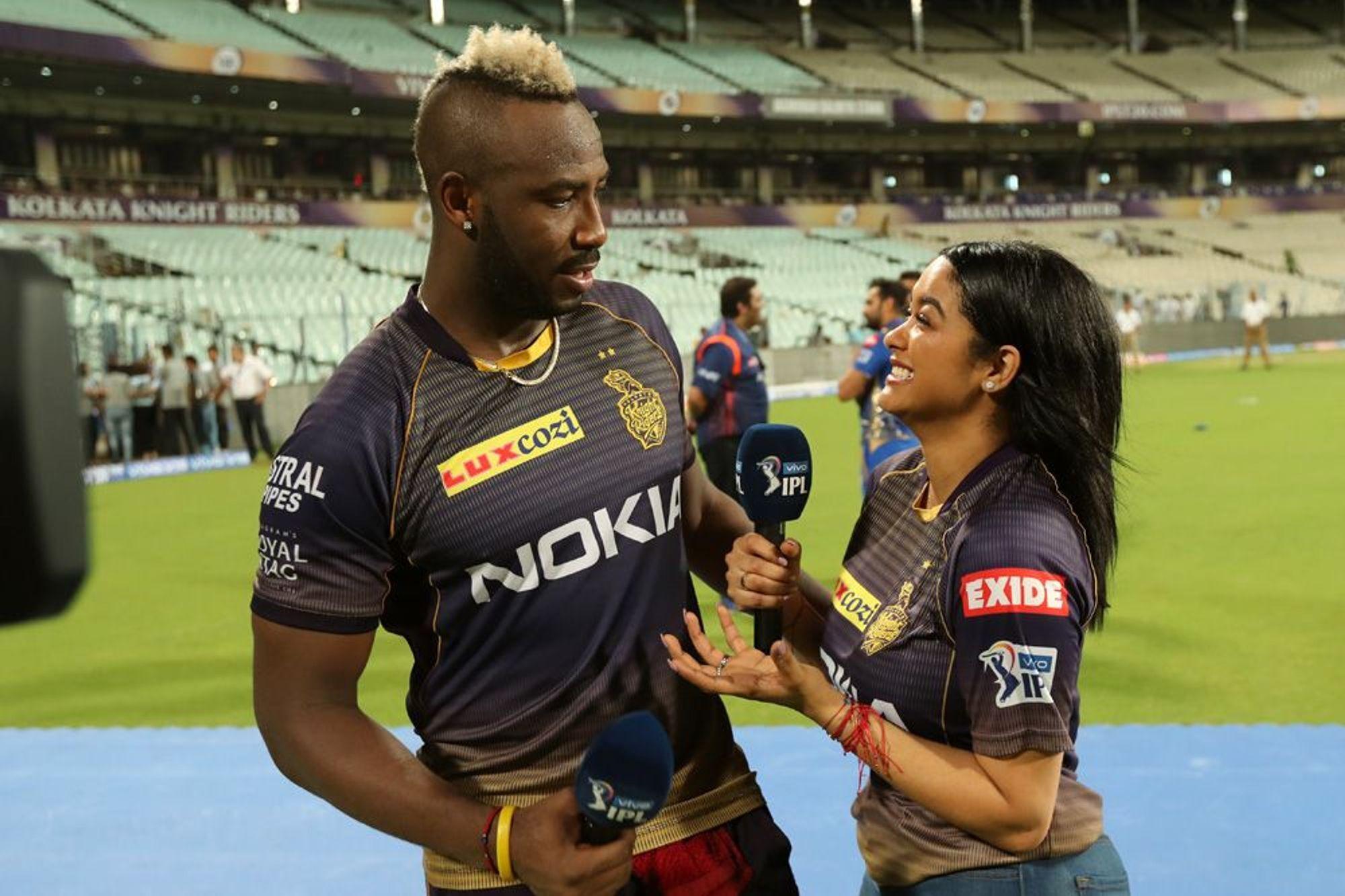 KKRvsMI : 'मैन ऑफ द मैच' आंद्रे रसेल ने बताया अपनी तूफानी बल्लेबाजी का असली राज 2