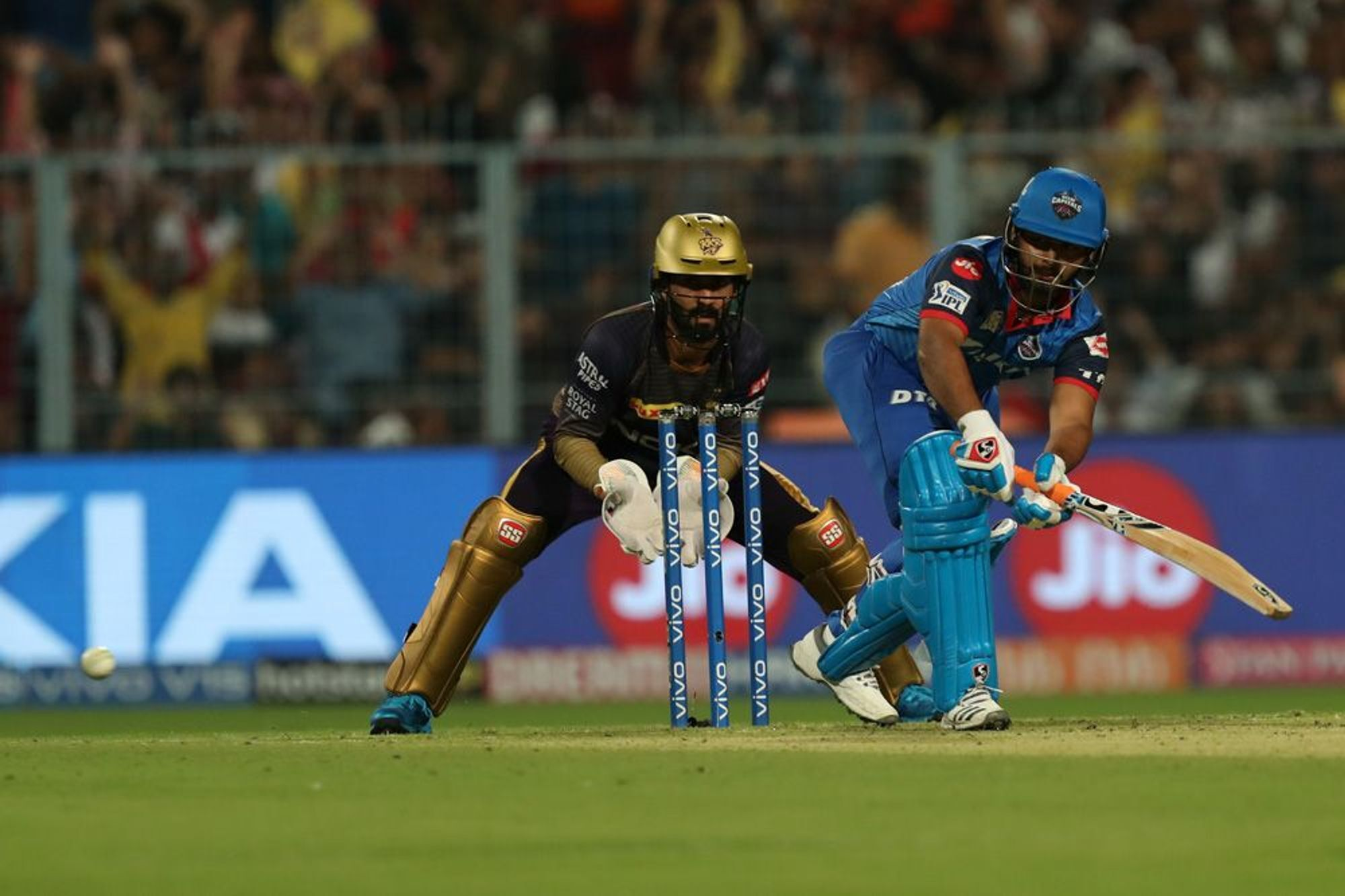 KKRvsDC : मैच के बाद ऋषभ पंत ने बताया विकेट होने के बाद भी क्यों अंत तक की धीमी बल्लेबाजी 5